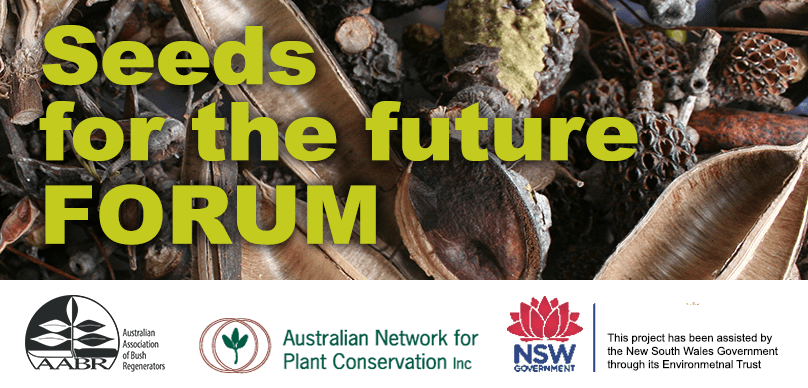 Seeds for the Future: a one day Forum – Sydney, Tuesday 8 October 2019