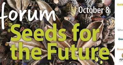 Seeds for the Future Forum – Keynote Speaker announced! Sydney, Tuesday 8 October 2019