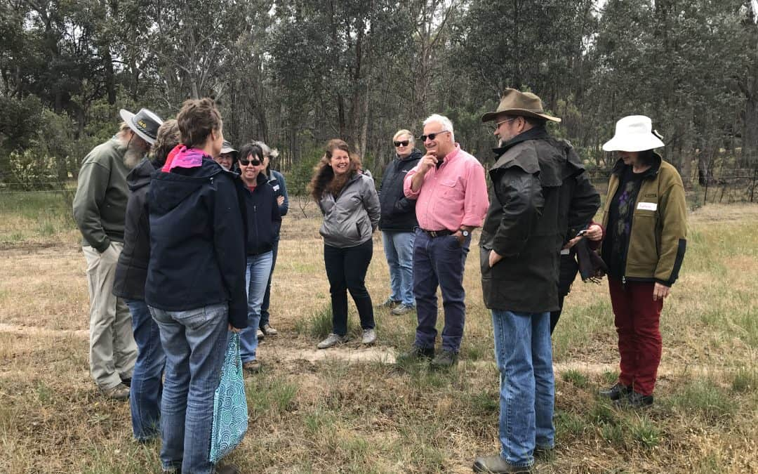 Declining Species workshop held by Wooragee Landcare