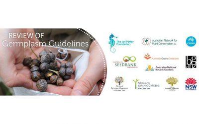 Germplasm Guidelines Review November Update