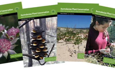 Call for submissions: Australasian Plant Conservation articles – due 1 May
