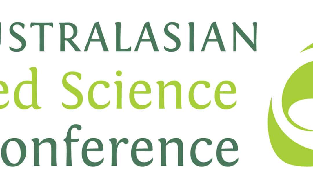 Australasian Seed Science Conference 6 – 10 September 2021