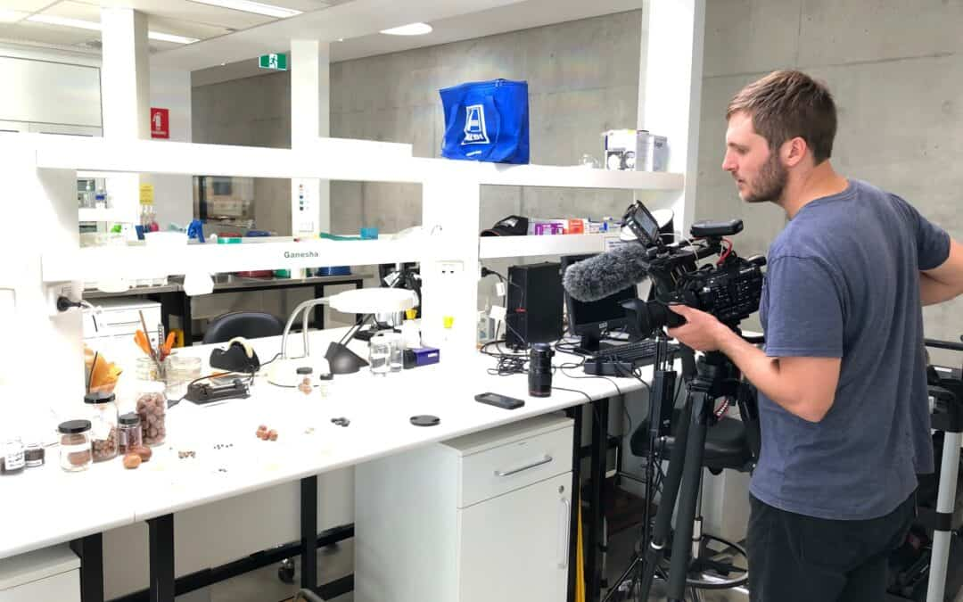 Filming at PlantBank