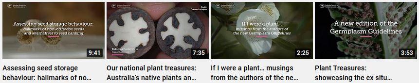 Germplasm video series